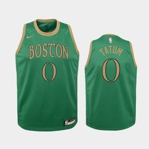 Women Boston Celtics City Jayson Tatum Jersey